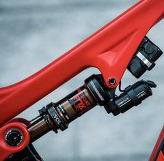 ველოსიპედის უკანა ამორტიზატორები - ჰაერის
