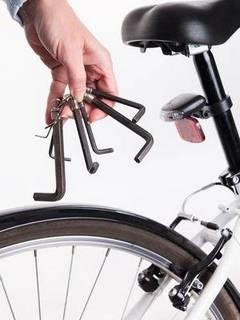 ველოსიპედის სკამის დახრის კუთხე