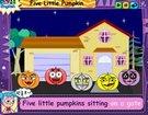ინგლისური საბავშვო სიმღერები - Five Little Pumpkin