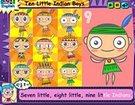 ინგლისური საბავშვო სიმღერები - Ten Little Indian Boys