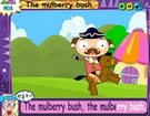ინგლისური საბავშვო სიმღერები - The mulberry bush