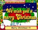 ინგლისური საბავშვო სიმღერები - We Wish You a Merry Christmas