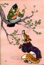 ივანე კრილოვი - ყვავი და მელა
