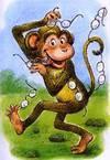 მაიმუნი და სათვალე