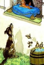 ივანე კრილოვი - ორი ძაღლი