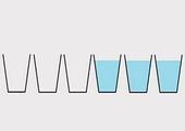6 ჭიქა წყალი