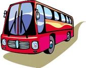 მგზავრები და ავტობუსი