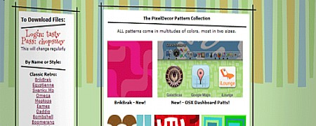 ფონების და ტექსტურების ონლაინ რესურსები - PixelDecor