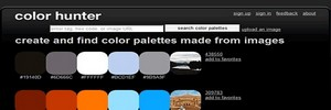 ფერებთან მუშაობის ონლაინ-სერვისები - Color Hunter
