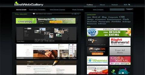 ვებ-დიზაინის საუკეთესო გალერეა - Best Web Gallery