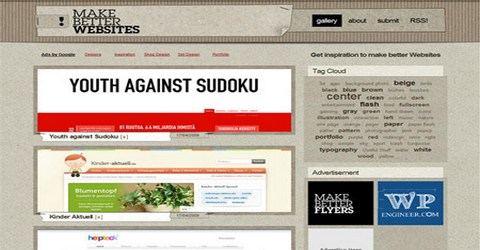 ვებ-დიზაინის საუკეთესო გალერეა - Make Better Websites