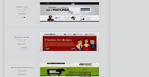 ვებ-დიზაინის საუკეთესო გალერეა - Web Creme