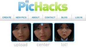 მხიარული ეფექტებისა და ონლაინ ფოტომონტაჟის საუკეთესო ფოტო-ვიდეო რედაქტორები - Pichacks