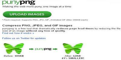 გამოსახულების ოპტიმიზაცია (წონის შემცირება) ვებ-საიტებისთვის - PunyPng