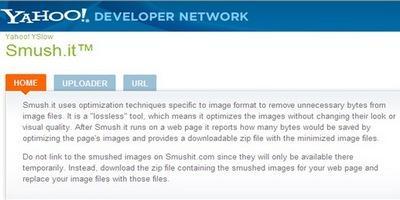 გამოსახულების ოპტიმიზაცია (წონის შემცირება) ვებ-საიტებისთვის - Smush.it