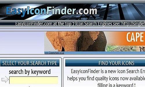 იკონების ძებნის საუკეთესო რესურსები - EasyIconFinder