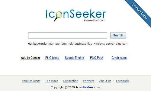 იკონების ძებნის საუკეთესო რესურსები - IconSeeker