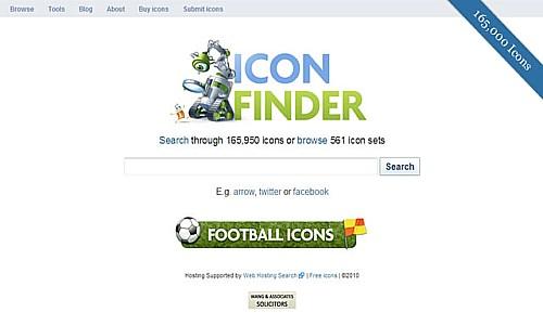 იკონების ძებნის საუკეთესო რესურსები - Iconfinder