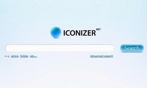 იკონების ძებნის საუკეთესო რესურსები - Iconizer
