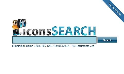 იკონების ძებნის საუკეთესო რესურსები - Icons Search Engine