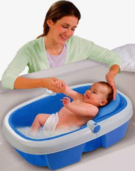 როგორ წყალში ვაბანავოთ ბავშვი?