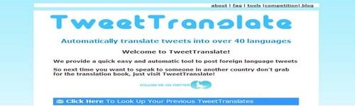 ონლაინ მთარგმნელები და ლექსიკონები - Tweettranslate