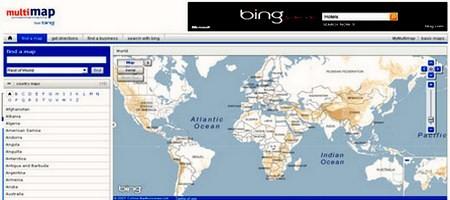 ონლაინ რუქები და ატლასები - Multimap