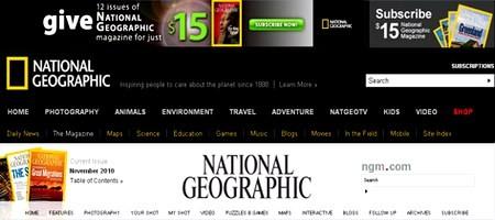 ონლაინ რუქები და ატლასები - Nationalgeographic
