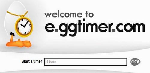 ონლაინ მაღვიძარები და წამზომები - E.ggtimer