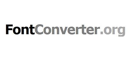 შრიფტების (ფონტების) ონლაინ კონვერტორები - Fontconverter