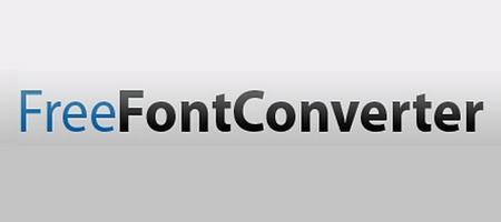 შრიფტების (ფონტების) ონლაინ კონვერტორები - Freefontconverter