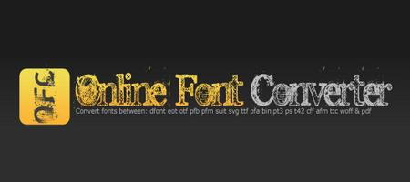 შრიფტების (ფონტების) ონლაინ კონვერტორები - Onlinefontconverter