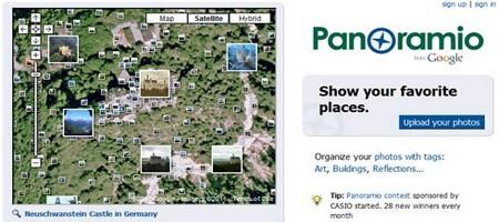 ონლაინ რუქები და ატლასები - Panoramio
