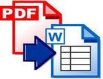 pdf - word გადაყვანა და პირიქით