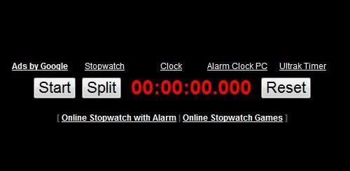 ონლაინ მაღვიძარები და წამზომები - Stopwatch.onlineclock