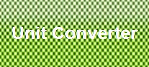 ერთეულების კონვერტორები (ზომის, მასის, მოცულობის, სიჩქარის, ტემპერატურის და ა.შ) - Unitconverters