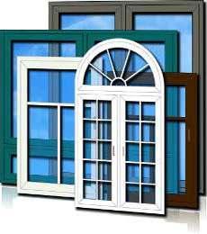 მეტალოპლასტმასის კარ-ფანჯრის ფერები და დიზაინი