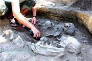 არქეოლოგიური გათხრებისას