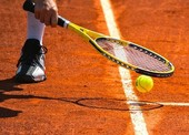 ტენისის ტურნირზე