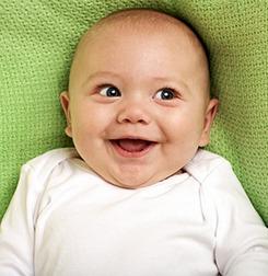 ბავშვის ზრდა და განვითარება - მესამე თვე