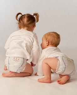 ვაჟისა და ბიჭუნას ჰიგიენური საფენები