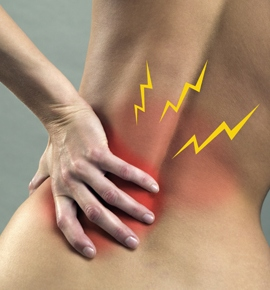 ფეხმძიმობის მე-18 კვირა - ტკივილი ზურგის არეში