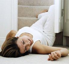 დაცემა ორსულობის დროს