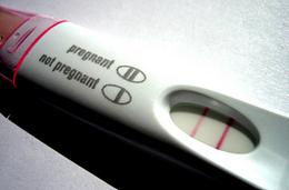 დადებითი ტესტი ფეხმძიმობაზე
