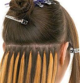შინიონები თმის დაგრძელებისთვის