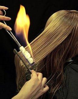 თმის ცეცხლით შეჭრა