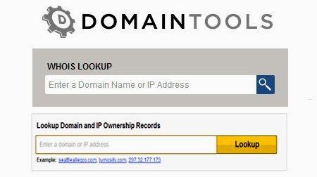დომენზე და ჰოსტინგზე ინფორმაციის დადგენა - Domaintools